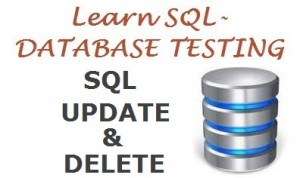 SQL update and delete query