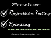 Difference between Retesting and Regression Testing