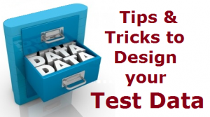 What is Test data & guidelines to design your Test Data
