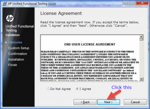 HP Unified Functional Testing 12 License Agreement