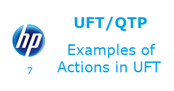Examples of Actions in UFT