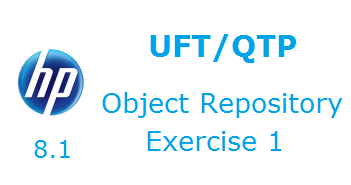 Object Repository in UFT Excercise1