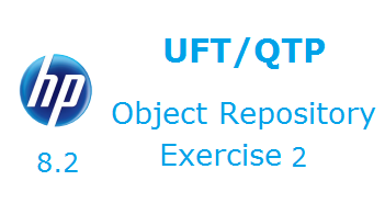 Object Repository in UFT Excercise 2