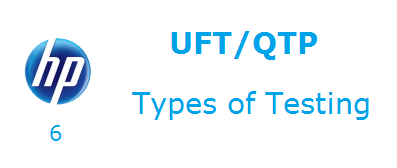Types of Testing in UFT QTP