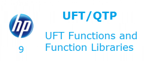 UFT Functions and Function Libraries