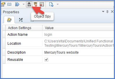 UFT Object Spy