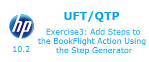 Add Steps to the BookFlight Action Using the Step Generator