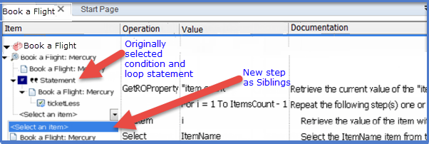 Condition and Loop Statement in Keyword view 12