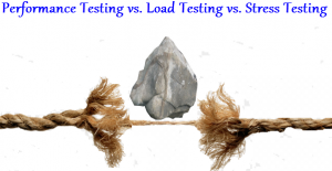 Performance Testing vs Load Testing vs Stress Testing