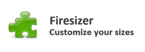 Firesizer Firefox Add-on