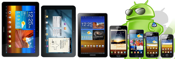 Range of Android Devices