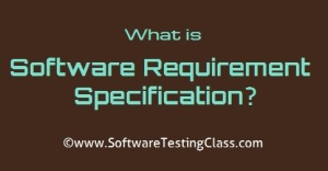 Software Requirement Specification (SRS)