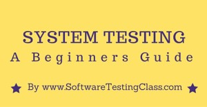 Basic Concepts of System Testing