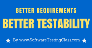 Better Requirements Better Testability