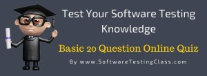 Test Your Software Testing Knowledge