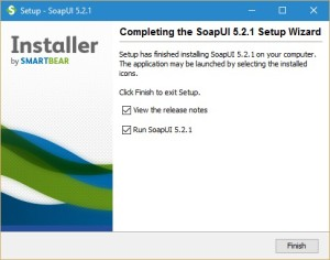 SoapUI Installation screen 11