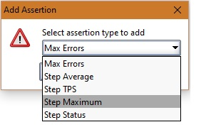 soapui max step assertion