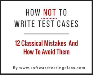How Not To Write Test Cases