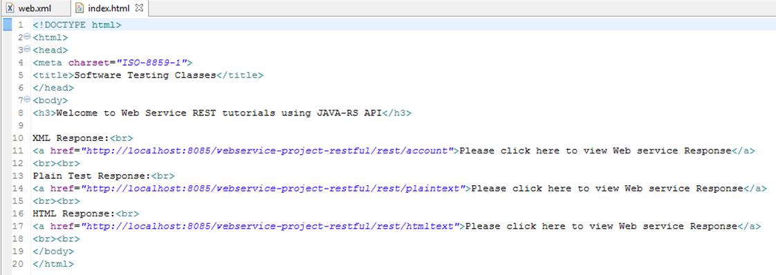 REST project web_xml1