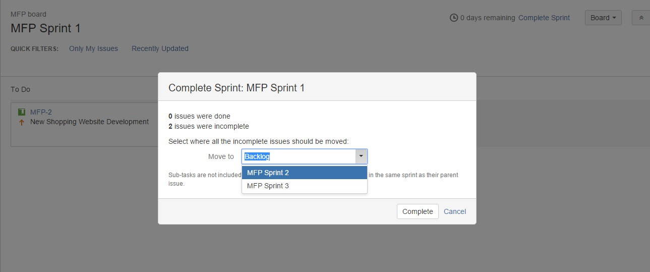 JIRA Sprint screen9