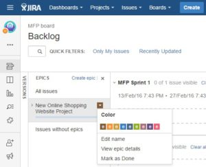 jira edit epic 1