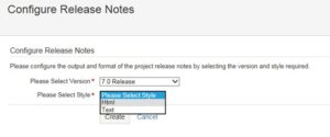 jira release notes