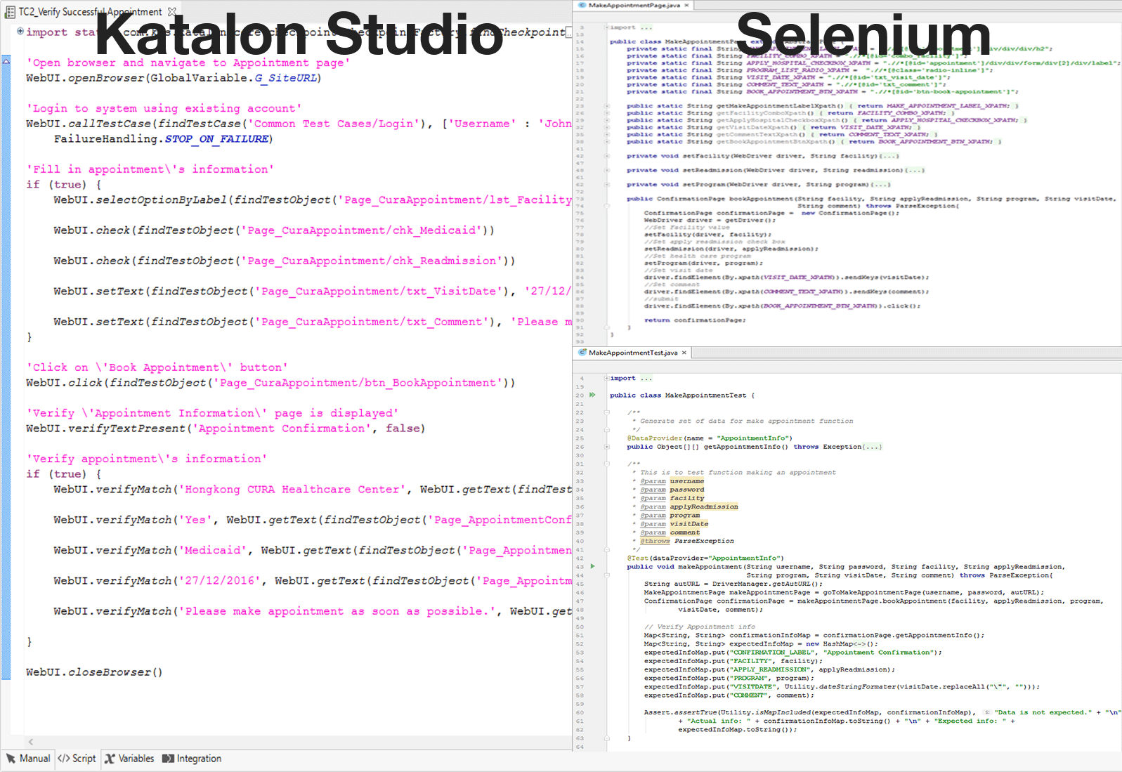 Hands on review katalon studio another free solution for katalon studio compared to selenium baditri Image collections