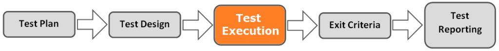 test process execution