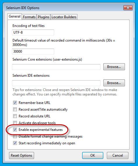 How to create Selenium WebDriver Test using Selenium IDE? - Selenium
