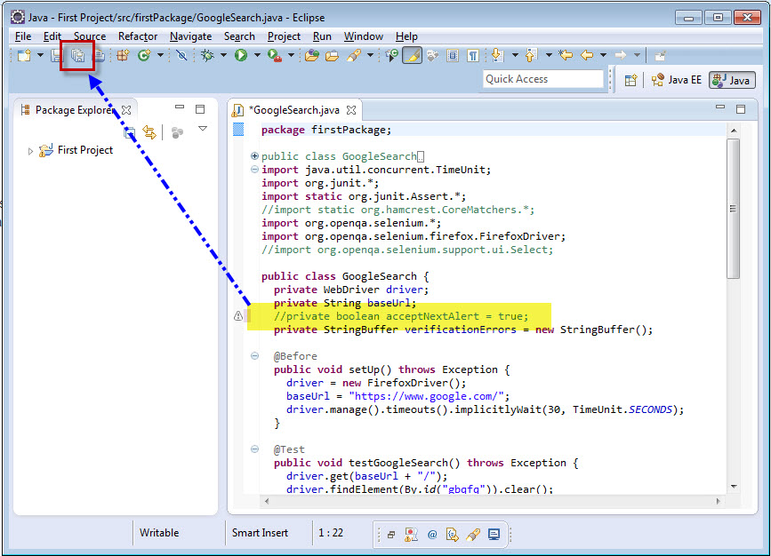 How to create Selenium WebDriver Test using Selenium IDE? - Selenium