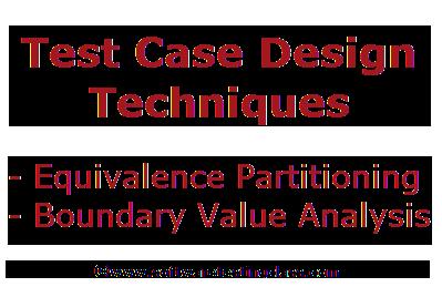 Test Case Design Techniques Archives Software Testing Class